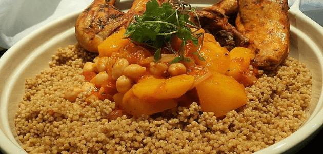 مكونات طبخة المفتول الفلسطيني بالتفصيل