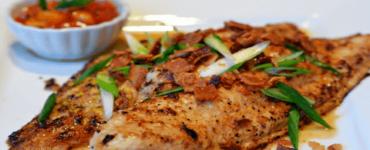 وصفات سمك فيليه مشوي سهلة