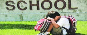 خوف الأطفال من المدرسة