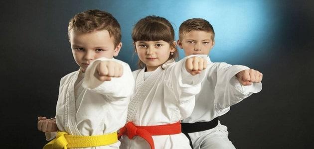الدفاع عن النفس للأطفال