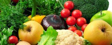 فوائد الخضروات والفاكهة لجسم الانسان