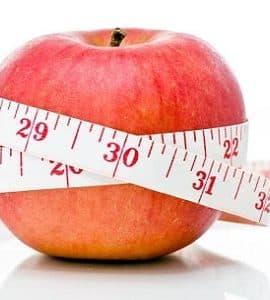 التفاح للريجيم