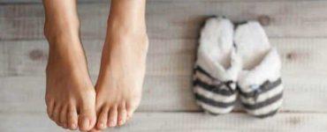 كيفية علاج حرارة القدمن