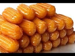 طريقة عمل بلح الشام وصوابع زينب بالعسل