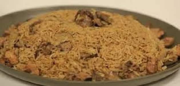طريقة عمل الكبد والقوانص بالأرز والبصل