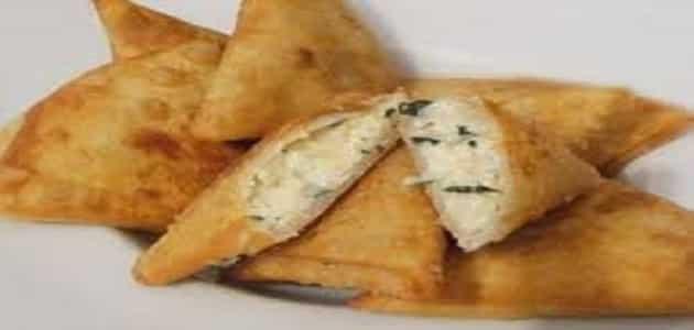 كيفية عمل سمبوسك بالجبنة